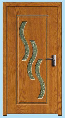 Usa interior 80cm<br /> Y014F-stejar-inchis