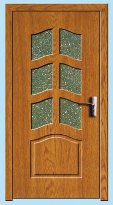Usa interior 80cm<br /> Y109F-stejar-inchis