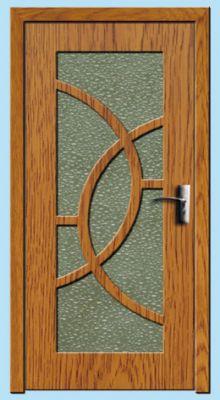 Usa interior 80cm<br /> Y309F-stejar-inchis