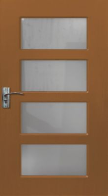 Usa interior 80cm<br /> Y317F-stejar-inchis